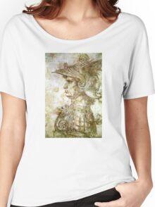 Leonardo da Vinci Man in Armour Women's Relaxed Fit T-Shirt