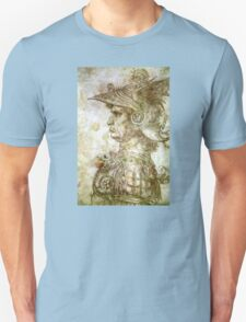 Leonardo da Vinci Man in Armour Unisex T-Shirt