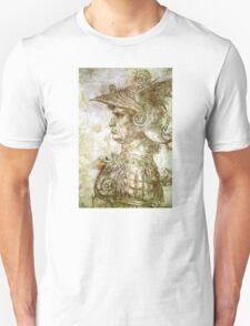 Leonardo da Vinci Man in Armour T-Shirt