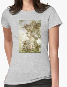 Leonardo da Vinci Man in Armour Womens Fitted T-Shirt