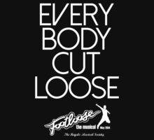Footloose - Everybody Cut Loose 2 Baby Tee