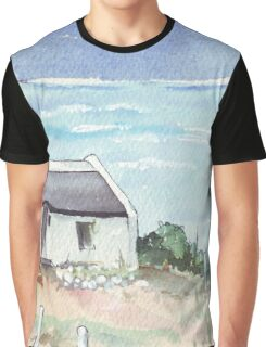A dream cottage by the sea Graphic T-Shirt