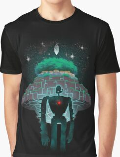Night Castle in the Sky Graphic T-Shirt