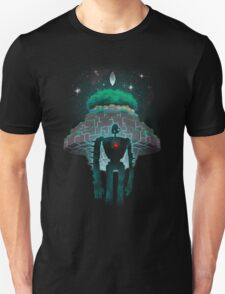 Night Castle in the Sky Unisex T-Shirt