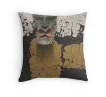 urban shaman 2 Throw Pillow