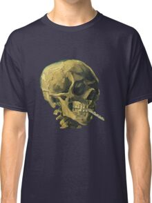 Vincent Van Gogh – Scull with a Cigarette Classic T-Shirt