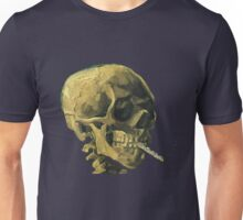 Vincent Van Gogh – Scull with a Cigarette Unisex T-Shirt