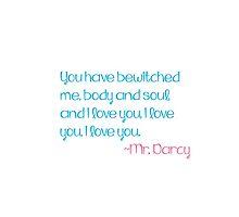 Mr. Darcy by mcdobner