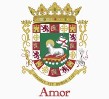 Amor Shield of Puerto Rico One Piece - Long Sleeve