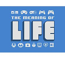 Meaning of Life = Gaming Photographic Print