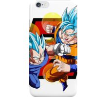 Dragon Ball Z - Vegeta & Goku SSJ God II iPhone Case/Skin