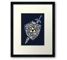 The Legend Forever Framed Print