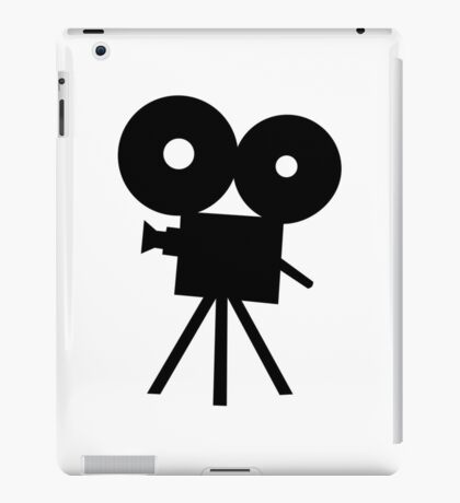 Film camera movie iPad Case/Skin