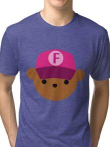 "ABC Bears - ""F Bear"" Tri-blend T-Shirt"