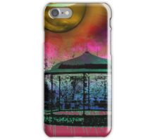 Shiney moon above bandstand iPhone Case/Skin