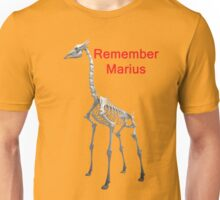 Remember Marius, T Shirts & Hoodies. ipad & iphone cases Unisex T-Shirt