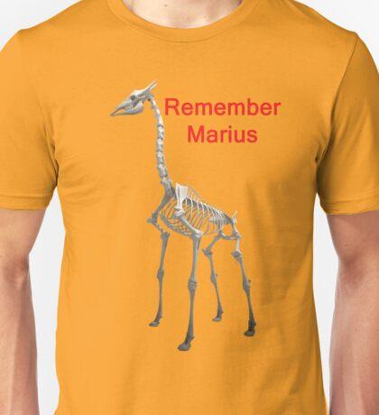 Remember Marius, T Shirts & Hoodies. ipad & iphone cases Unisex T-Shirt