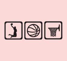 Basketball player ball One Piece - Short Sleeve