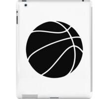 Black basketball iPad Case/Skin