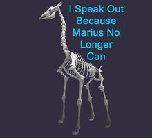 I Speak Out Because Marius No Longer Can, T Shirts & Hoodies. ipad & iphone cases Unisex T-Shirt