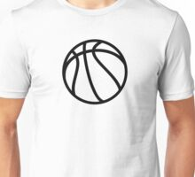 Basketball icon Unisex T-Shirt