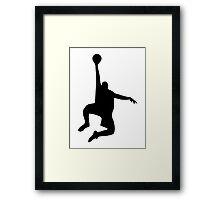 Basketball sports Framed Print