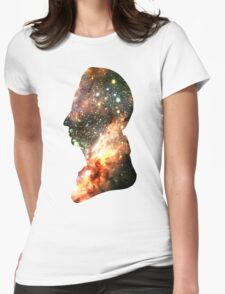 Colorful Celestial Stars   Messier Headula Womens Fitted T-Shirt
