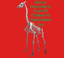 Marius Dissected In Front Of Children At Copenhagen Zoo  T Shirts & Hoodies. ipad & iphone cases Unisex T-Shirt