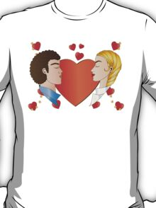 Love and Hearts  T-Shirt