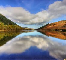 Lake Geirionydd  by Ian Mitchell