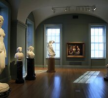 An Elegant Room Of Artful -- And Beautiful -- Women by Cora Wandel