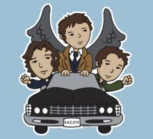 Supernatural Car Ride Kids Clothes