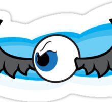 Angry Flying Eye - Grey Sticker