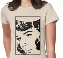 Comic Womens Fitted T-Shirt