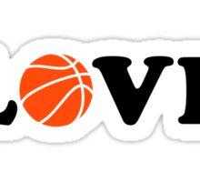 Basketball love ball Sticker