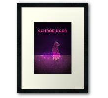 Schrodinger's Cat Framed Print