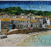 Mousehole by samcannonart