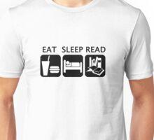 Eat, sleep, read Unisex T-Shirt