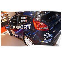 Ford Fiesta WRC M-Sport Poster