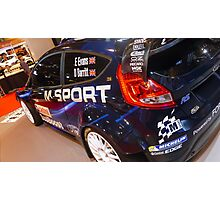 Ford Fiesta WRC M-Sport Photographic Print