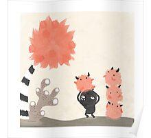 Seuss's Tree Poster