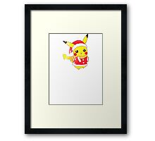 Christmas Pikachu  Framed Print