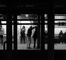 Love (or maybe Hate?) on the Subway by davewilkins1979