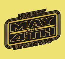 Happy May the 4th V2 Kids Tee