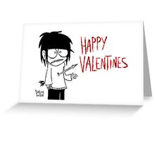 Jeff The Killer - Valentines Card Greeting Card