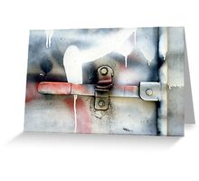 A CLOSER NY - TRUCK HANDLE Greeting Card