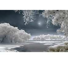 Winter Lake Photographic Print