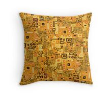 Klimt Pattern Throw Pillow
