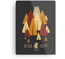 hide and seek Metal Print