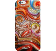 abstract painting  brown water bottles posters bags thermos shower curtain phone ipad cases  iPhone Case/Skin